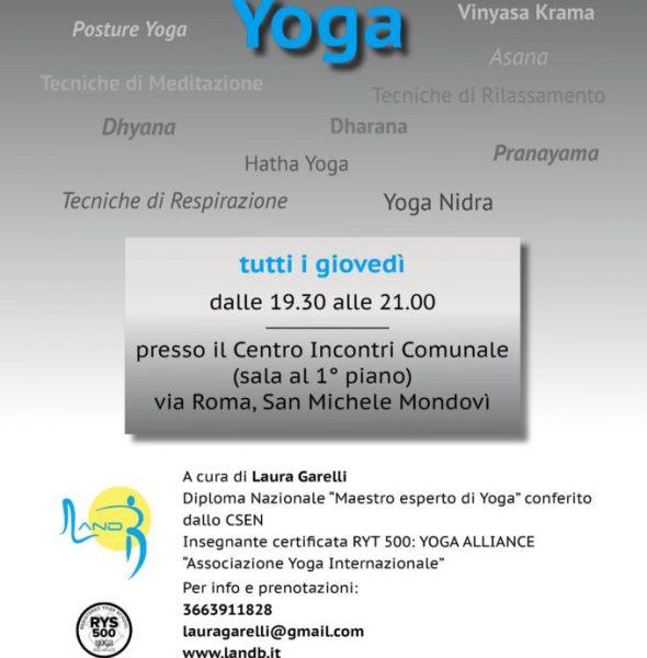 Incontro di Yoga a San Michele Mondovì