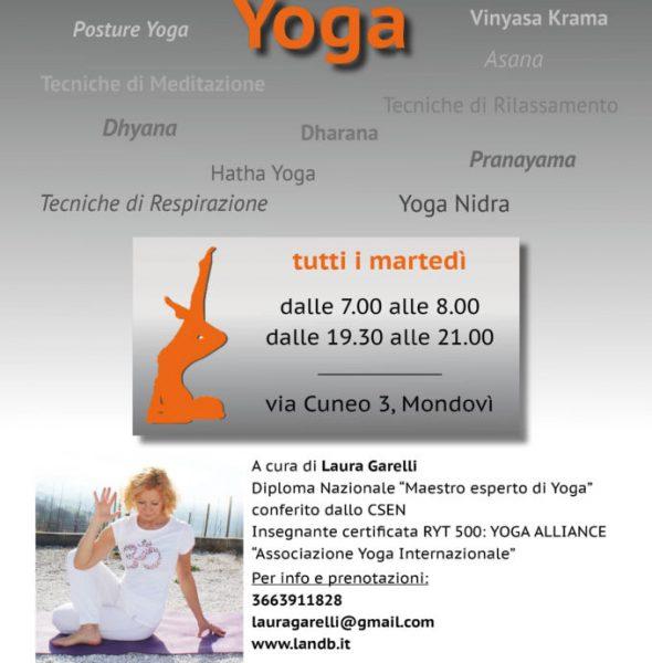 Incontro di Yoga a Mondovì