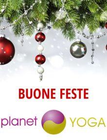 Buone feste dal team di Planet Yoga!